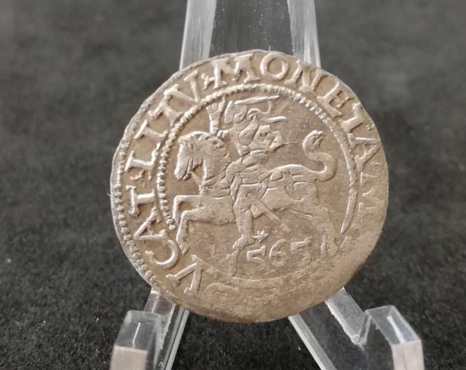 LDK Žygimantas Augustas pusgrašis 1565