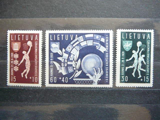 Lietuva 1939 Krepsinis svarus