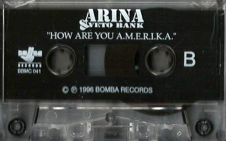 Arina & Veto Bank ‎- How Are You A.M.E.R.I.K.A.