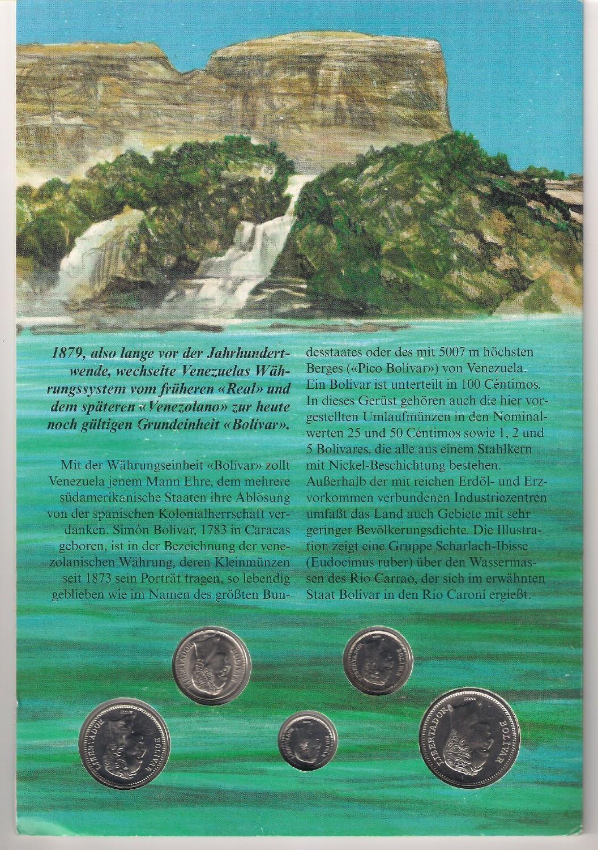 Venesuelos monetų rinkinys