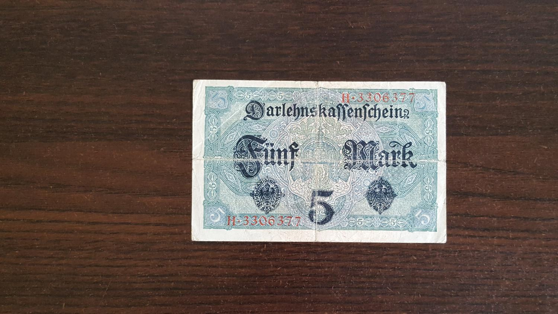 1917 Funf Mark