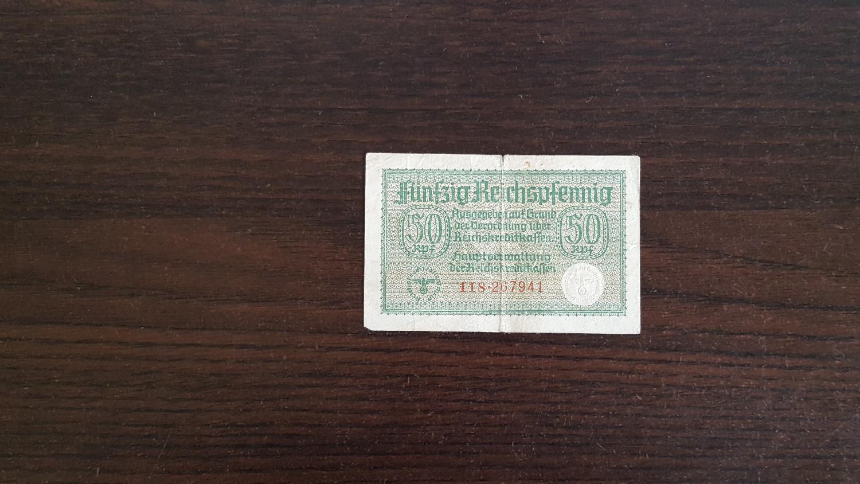 Funfzig Reichspfennig