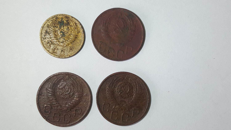 Tarybų Sąjungos monetų lotas iki 1958 metų