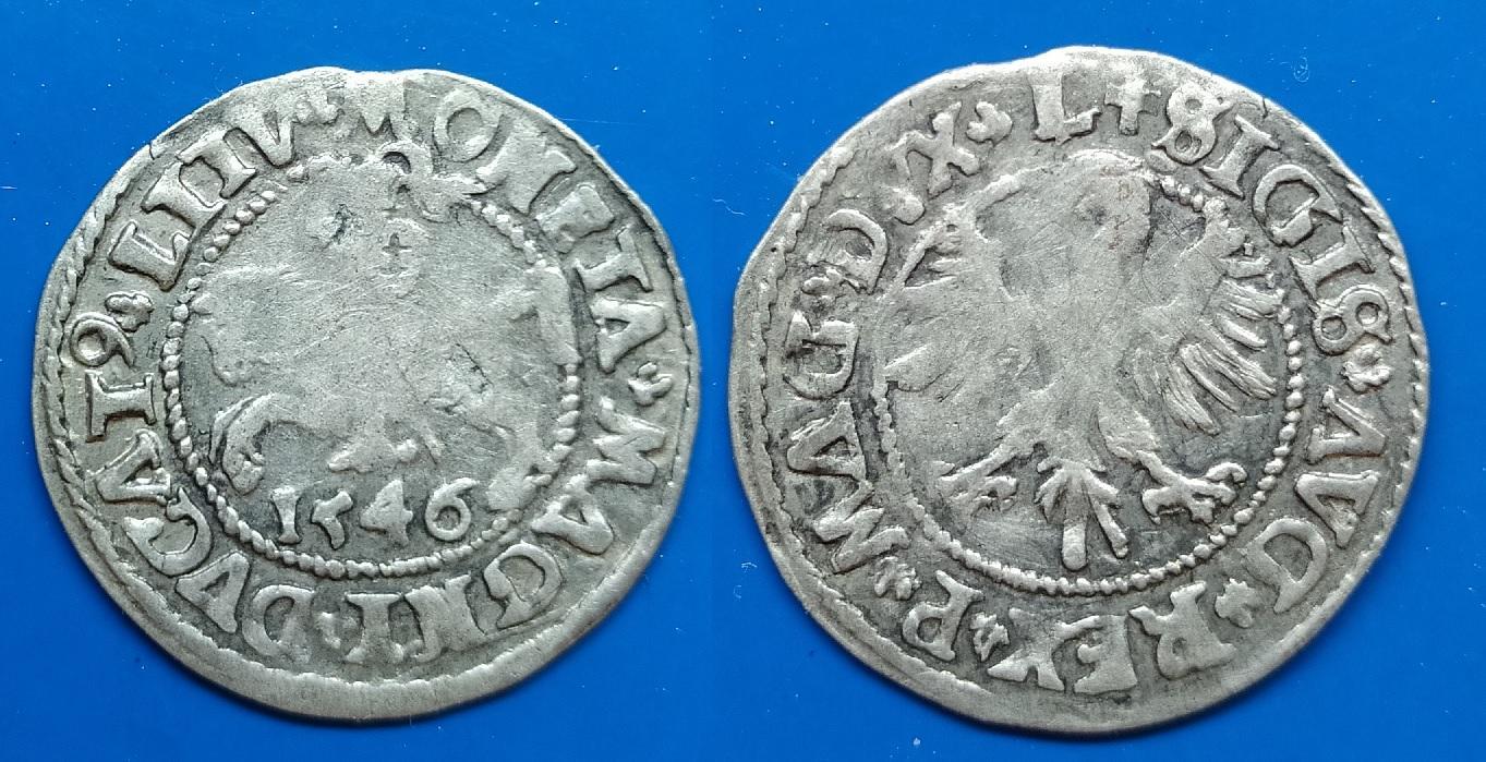LDK - Ž.Augusto 1546 m. pusgrašis ( R)