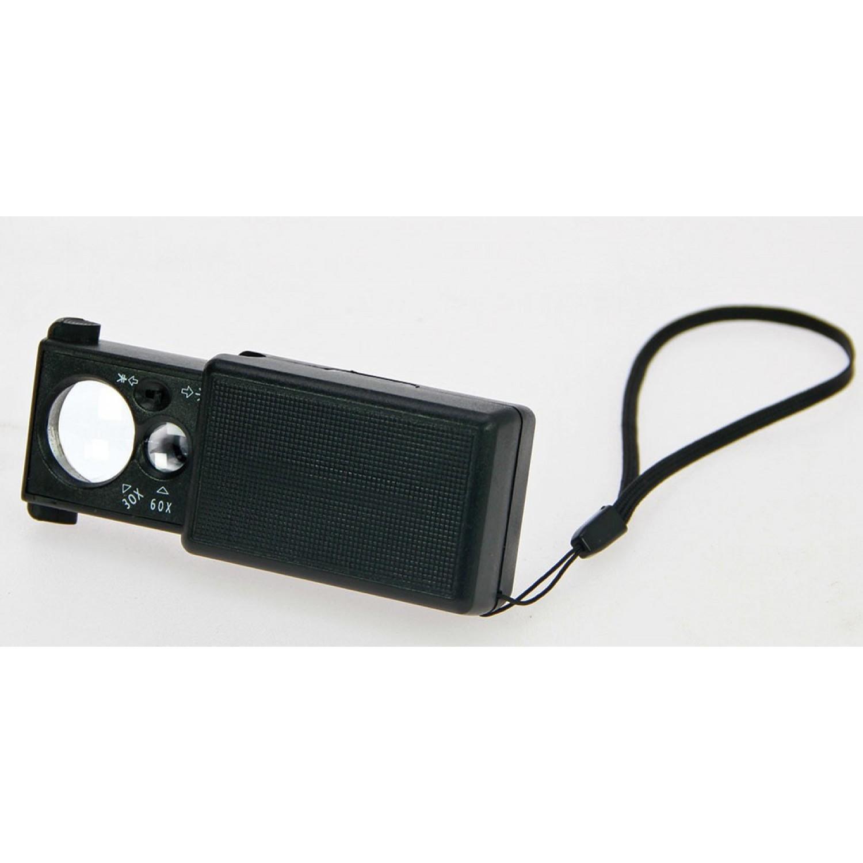 Padidinimo stiklas, ištraukiamas su LED ir UV apšvietimu, SAFE 4631