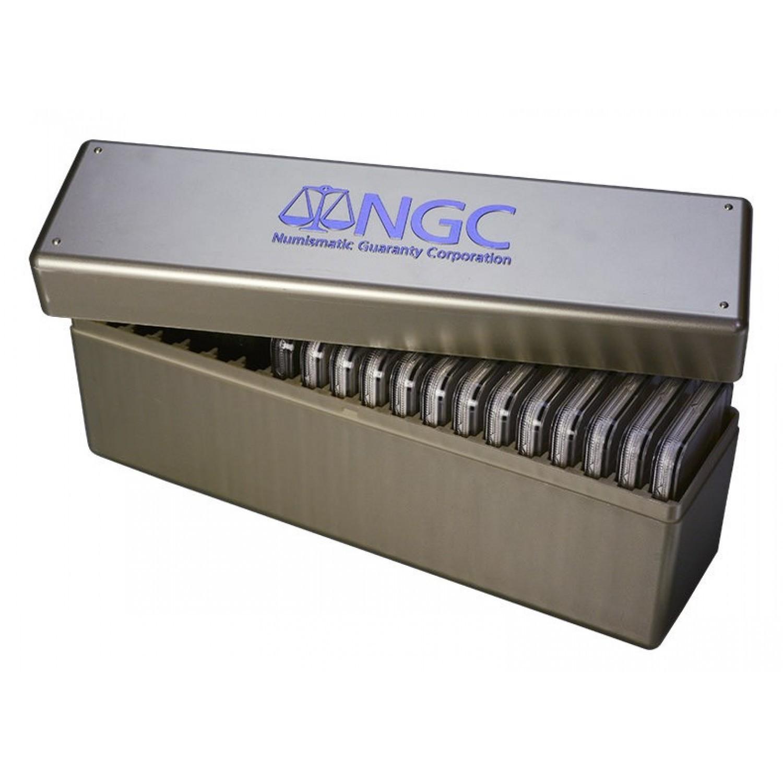 Sertifikuotų monetų dėžutė NGC NGC20