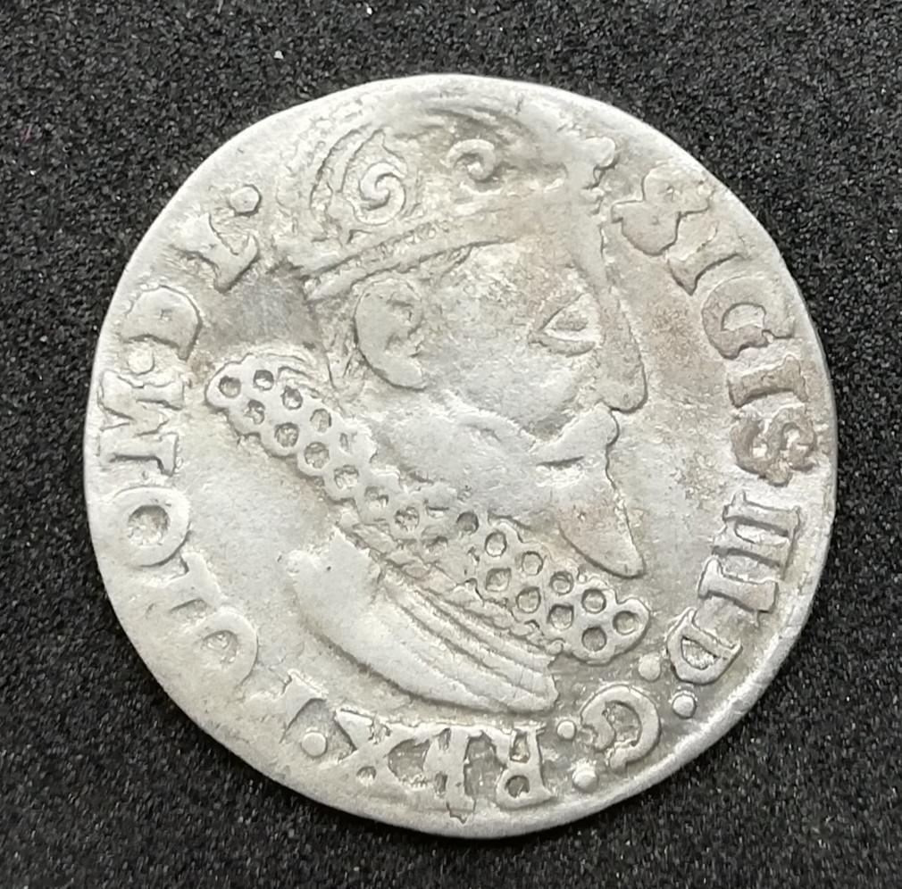 LDK Žygimantas Vaza Lenkiškas Trigrašis 1623
