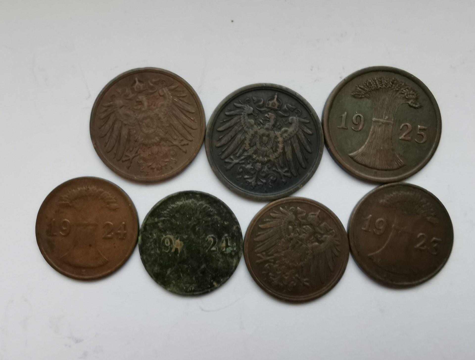 Vokietija 1-2pf 1906-1925
