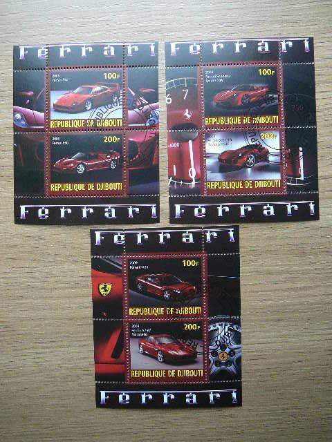 g013/5 Automobiliai Ferrari antsp.