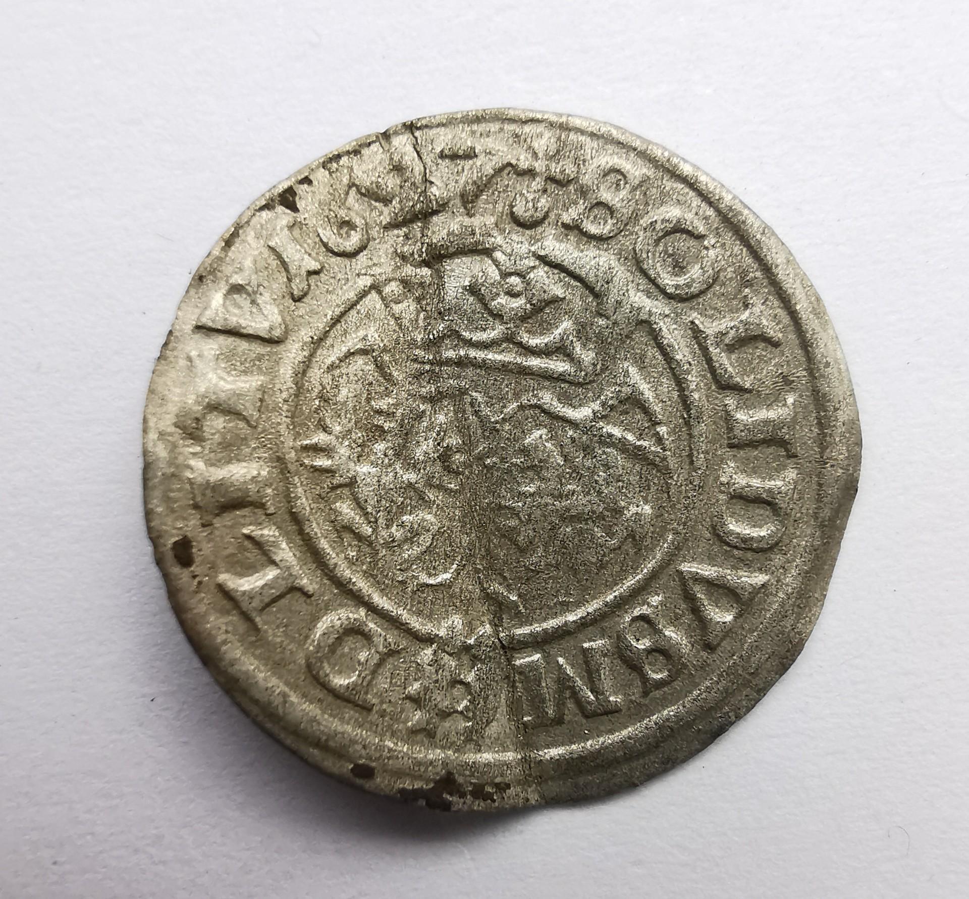 Žygimanto Vazos 1627 šilingas