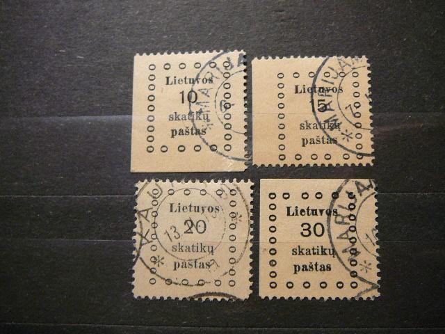 Lietuva 1919 09/12 Kauno I laida antsp.