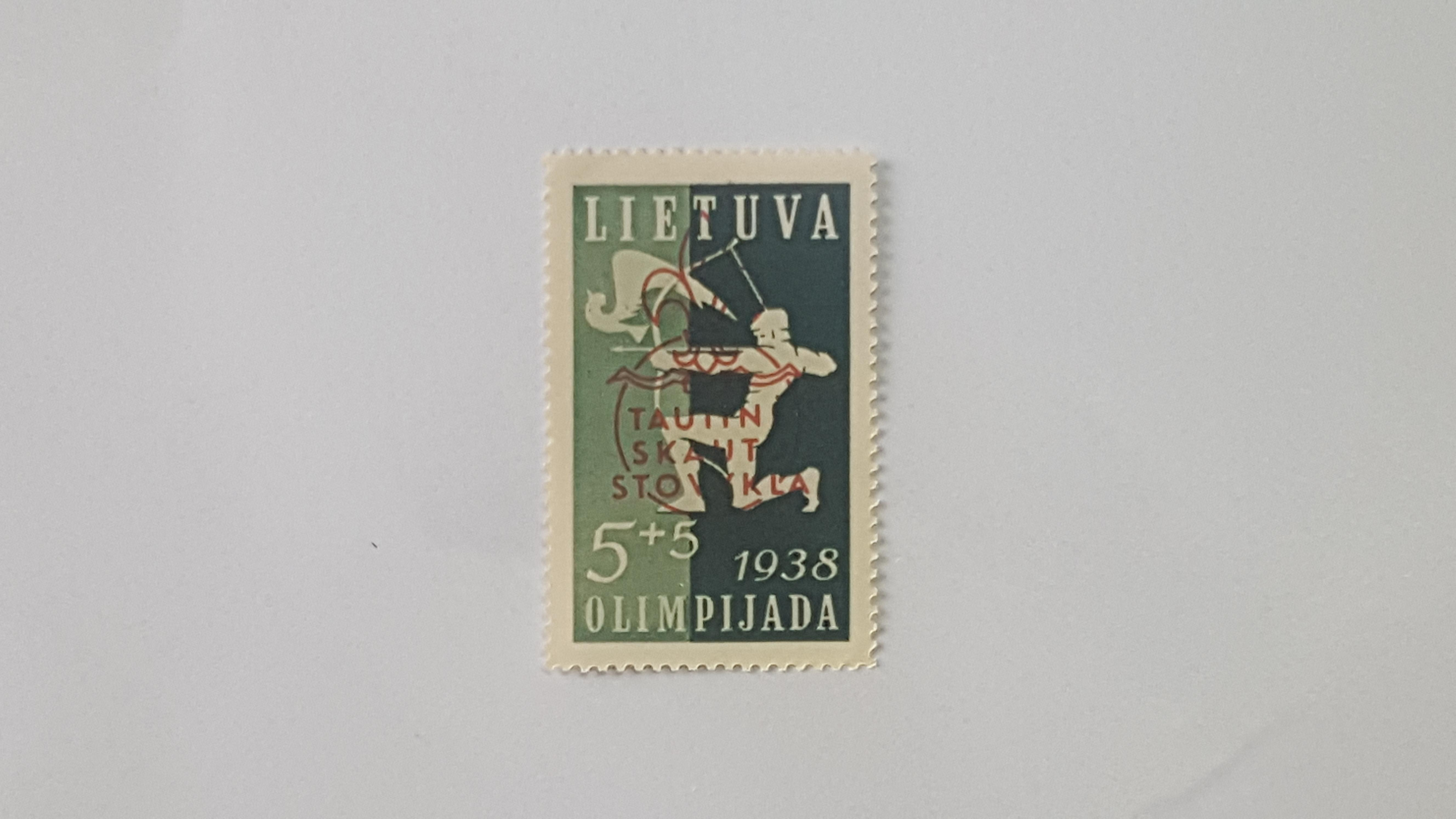 Tautinės skautų stovyklos laida 1938m