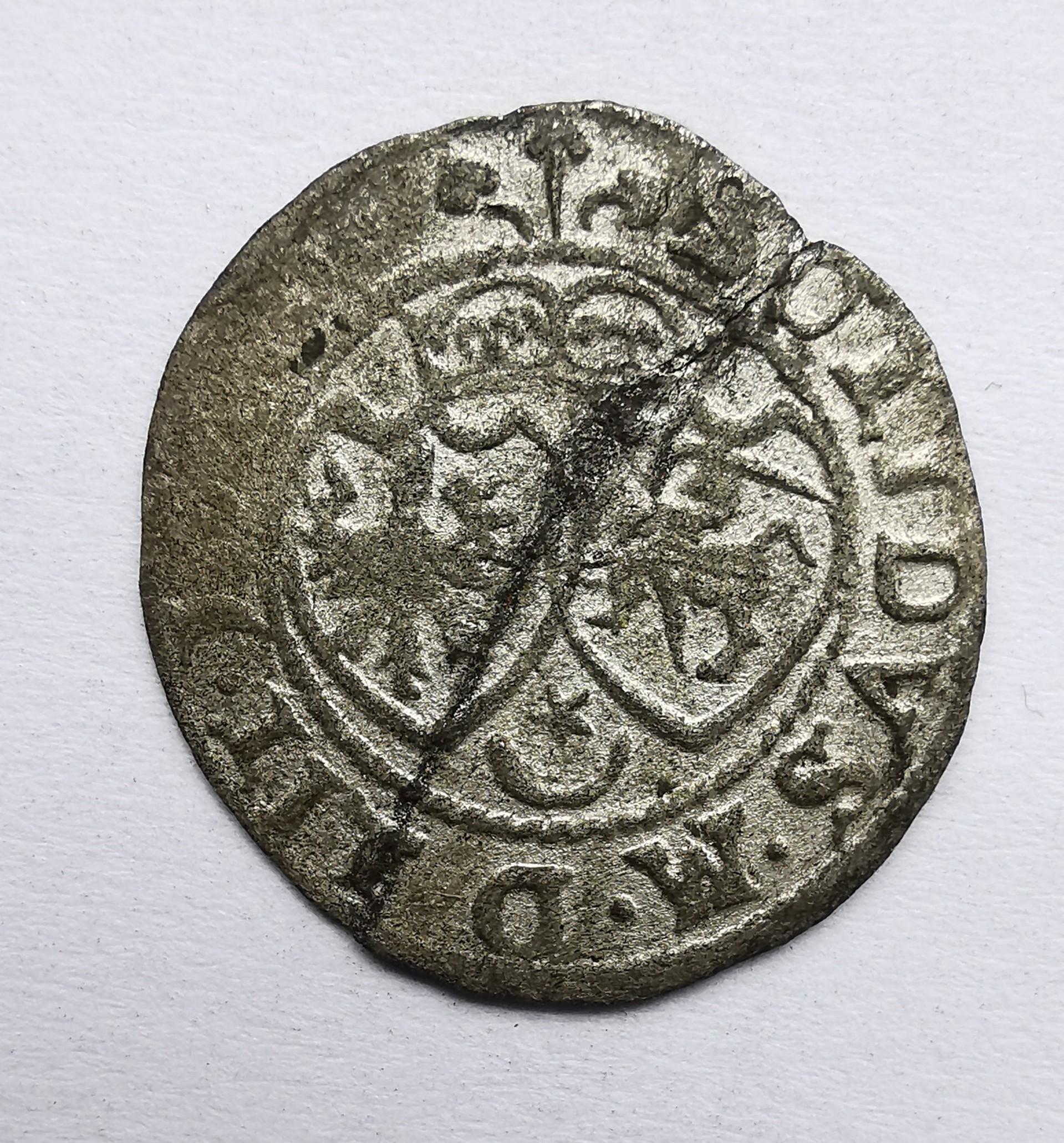 Stepano Batoro šilingas 1581-1585
