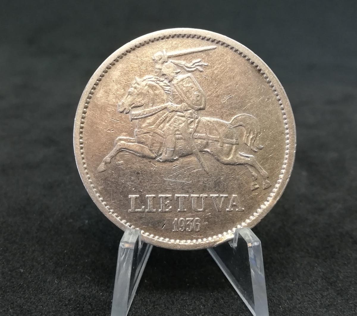 1936 Dešimt Litų - Vytautas