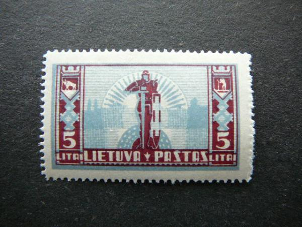 Lietuva 1934 402 Standartai svarus MNH