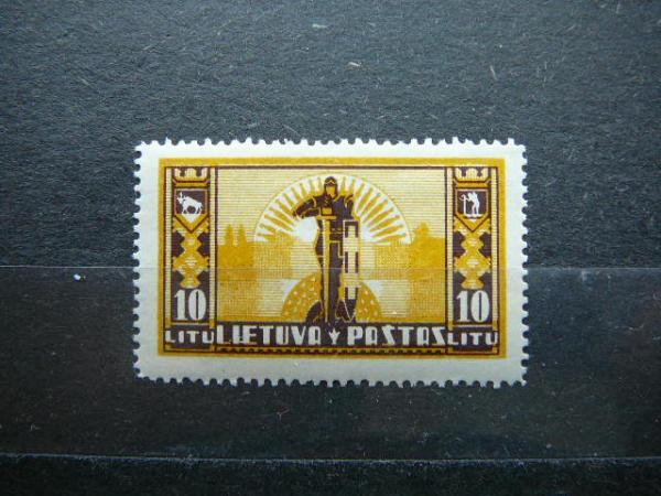 Lietuva 1934 403 Standartai svarus MNH