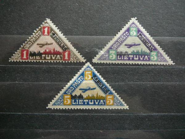 Lietuva 1922 118/0 Oro pastas MLH