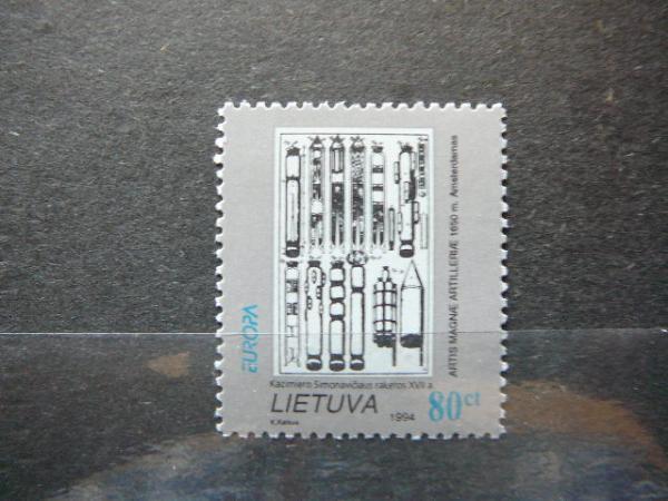 Lietuva 1994 Europa MNH