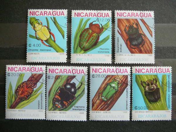 lp044 Vabalai Nikaragva antsp.