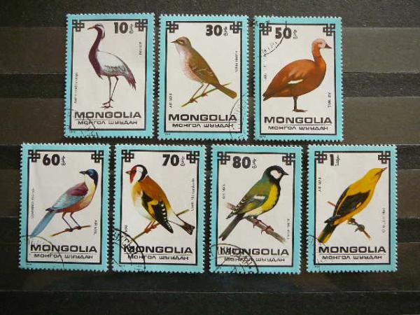lp061 Pauksciai Mongolija antsp.