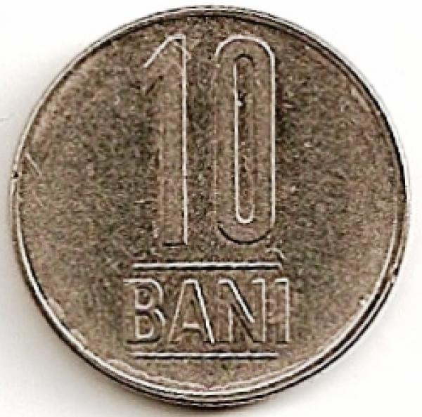 Rumunija. 10 banių ( 2008 ) VF