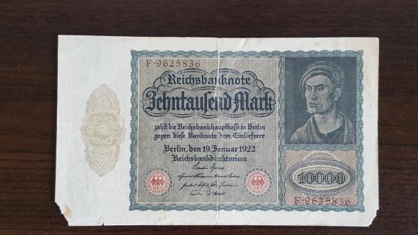 10 000 Mark 1922