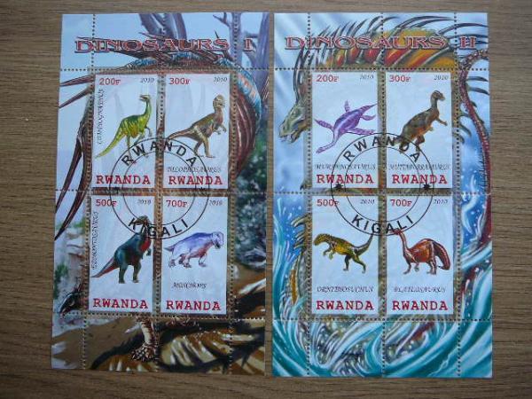 s856/7 Dinozaurai antsp.