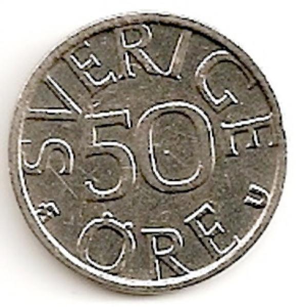 Švedija. 50 erių ( 1990 ) XF