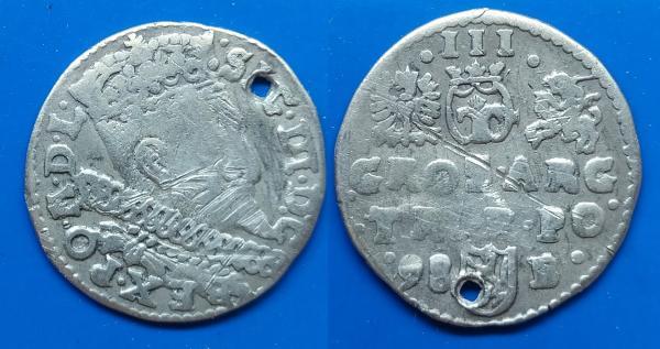 LDK - Ž. VAZOS 1598 m. 3 GRAŠIAI