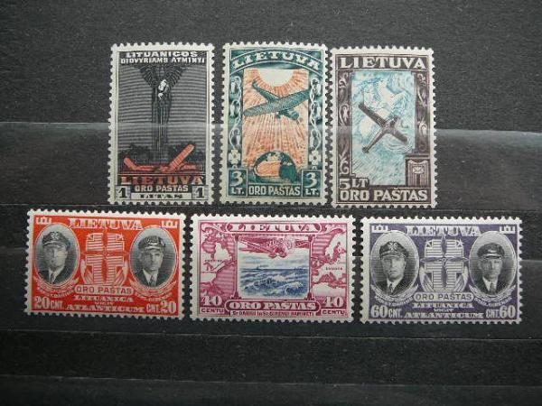 Lietuva 1934 385/0 Darius ir Girenas svarus MNH