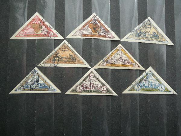 Lietuva 1932 324/1B Septyndieniai antsp.