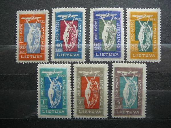 Lietuva 1921 109/5 Angeliukai svarus