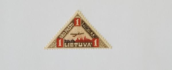 Trečioji oro pašto laida 1922m.