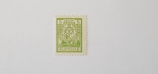 1923m papildymo pašto ženklas
