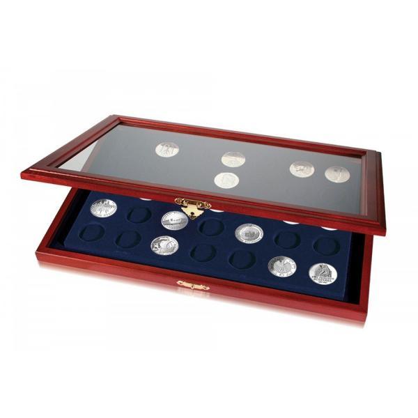 Rėmelis monetoms iki 33 mm skersmens (2 eurai kapsulėse) SAFE 5869