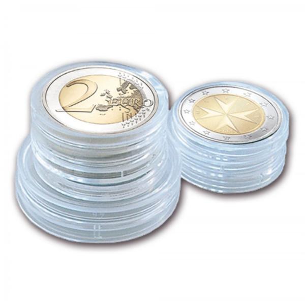Kapsulės 2 eurų monetoms (iki 26 mm.) SAFE 6726XL