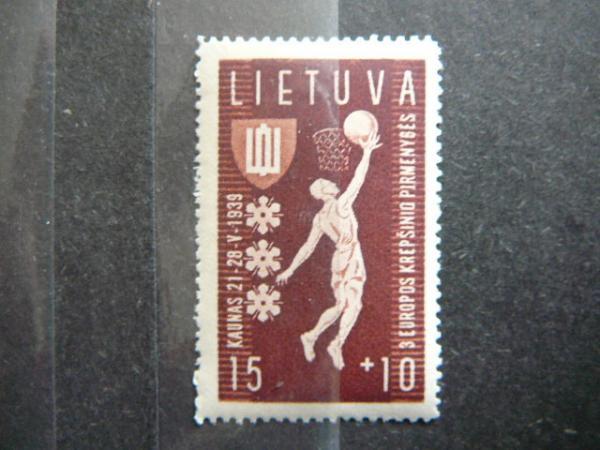 Lietuva 1939 429 Krepsinis svarus
