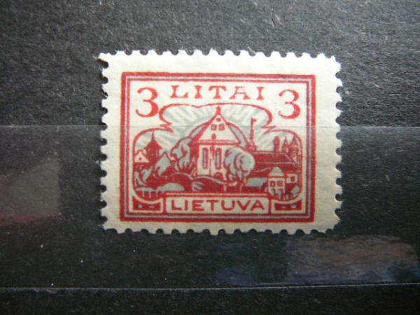 Lietuva 1923 194 Standartai svarus MLH