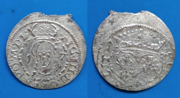 LDK - Ž.Vazos šilingas 1617 m.