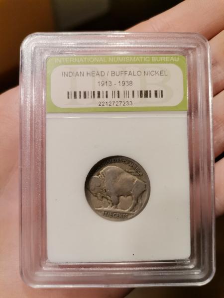 Indian HEAD/Buffalo Nickel 1913-1938