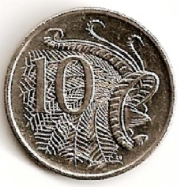 Australija. 10 centų ( 1983 ) XF
