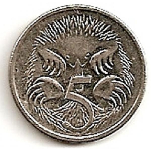 Australija. 5 centai ( 2005 ) AU