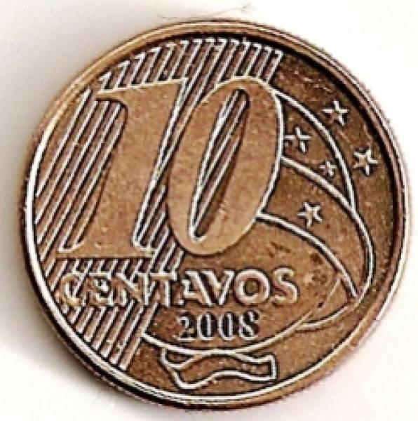 Brazilija. 10 centavų ( 2012 ) XF