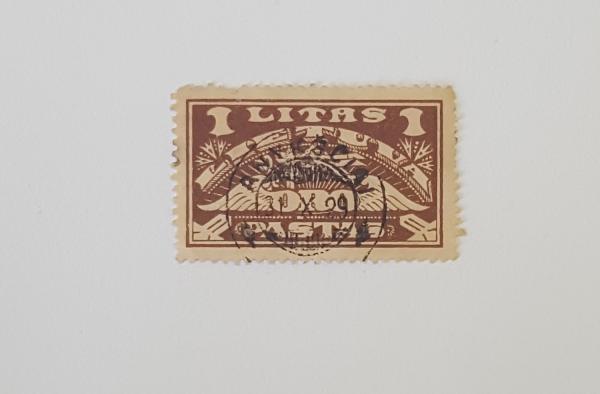 Naujosiso valiutos oro pašto laida 1924m