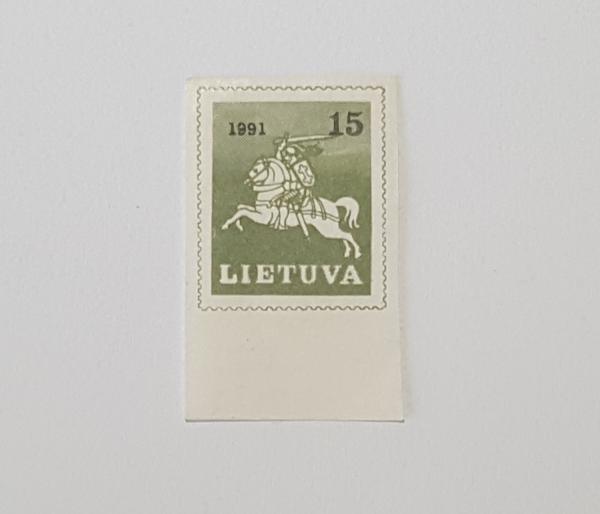1991m pašto ženklas