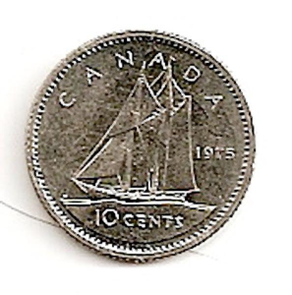 Kanada. 10 centų ( 1980 ) XF