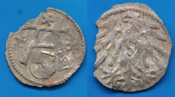 PRUSIJA - 1500 m. denaras