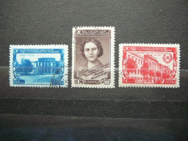Lietuva 1950 M.Melnikaite (sssr) antsp.