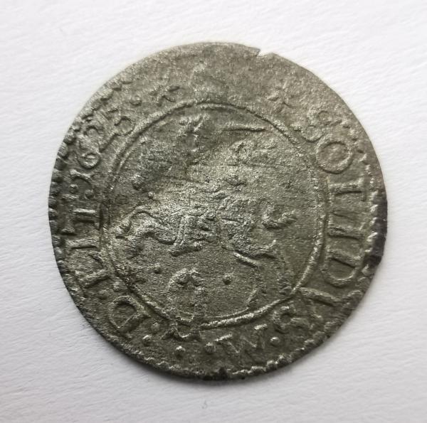 Žygimanto Vazos 1623 šilingas