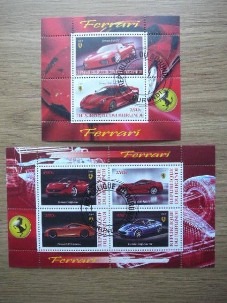 g054/5 Automobiliai Ferrari antsp.